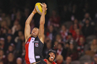 Jarryn Geary in action for St Kilda. Photo /Getty Images