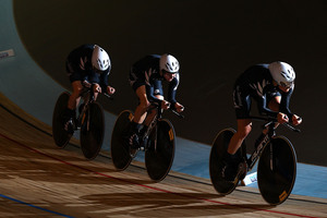 The New Zealand women's pursuit team of Lauren Ellis, Jaime Nielsen and Alison Shanks will not be going to the world champs. Photo / Getty Images