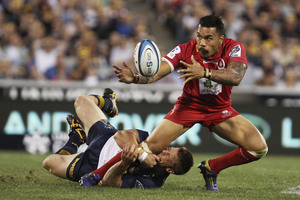 Reds winger Digby Ioane wants to leave the franchise at the end of the season. Photo / Getty Images
