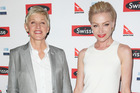 Portia de Rossi is happy to grow old with wife, Ellen DeGeneres. Photo / Getty Images