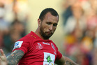 Quade Cooper kicked all 12 of the Reds' points. Photo / Getty Images