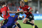 Andy Ellis of the Crusaders during the match against the Highlanders. Photo / Getty Images