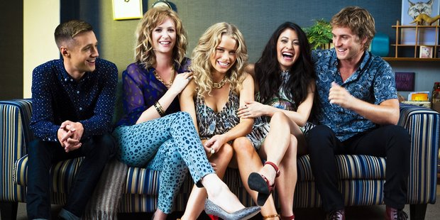 The cast of the new series of 'Go Girls'. Photo / Supplied