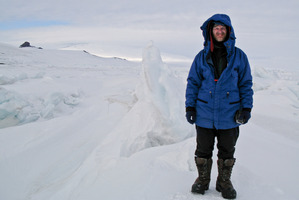 Dr Simon Lamb spent six years making the  Thin Ice  documentary. Photo / Supplied