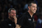 Assistant coach Dean Vickerman (left) looks likely to step into the departing Andrej Lemanis' shoes. Photo / Getty Images