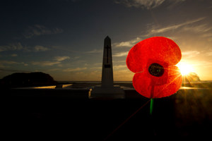 Indeed, a poll released last week found that a clear majority of New Zealanders believe Anzac Day means more to them than Waitangi Day. Photo / Alan Gibson