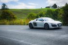 The Audi R8 V10 Plus is not for the fainthearted. Photo / Ted Baghurst