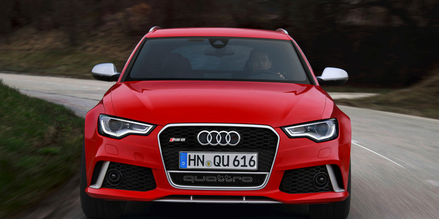 2013 Audi RS6 Avant. Photo / Supplied