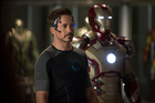 Robert Downey Jr as Tony Stark in 'Iron Man III'. Photo / Supplied