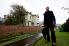 Allan Kirk lives on Poronui Street in Mt Eden. Photo / Dean Purcell