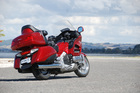The 2013 Honda Goldwing. Photo /  Jacqui Madelin