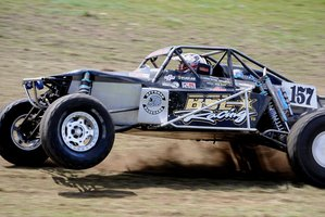 Ten-time national title-holder Tony McCall is one to watch this weekend as cars, trucks and specials take to the championship course. Photo / Supplied