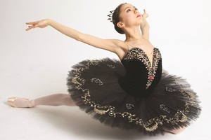 Miko Fogarty is one of the ballerinas featured in First Position. Photo / Supplied