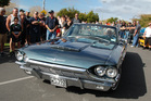The people chose John Borrows' immaculate 1965 T-bird as their favourite. Photo / Supplied