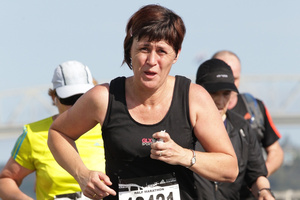 Jo Mellow died at the scene, just 2km from her home. Photo / Marathon-Photos.com