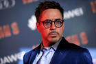 Playing the role of Iron Man has taken its toll on U.S actor Robert Downey Jr. Photo / AP