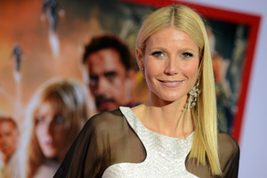 Actress Gwyneth Paltrow at the world premiere for Iron Man III. Photo / AP