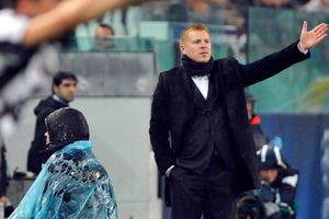 Celtic manager Neil Lennon. Photo / AP