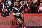 Manu Vatuvei made his debut for the Warriors in 2004. Photo / Greg Bowker