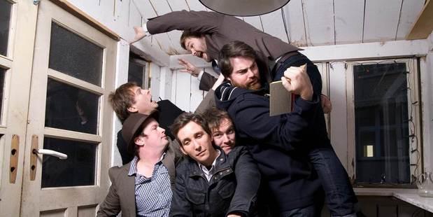 Wellington band The Phoenix Foundation.  Photo / Supplied