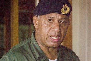 Commodore Frank Bainimarama. Photo / Supplied