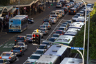 The real gridlock doesn't happen on the harbour bridge - it's more to do with poor traffic management along key routes like Albert St. Photo / Brett Phibbs
