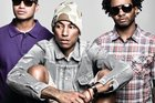 Pharrell Williams in his band, N*E*R*D. Photo / Supplied