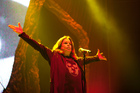 Ozzy Osbourne performs with Black Sabbath. Photo / Neville Mariner