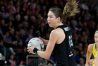 Silver Ferns Irene van Dyk. Photo / Sarah Ivey.