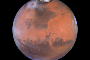 Is there life on Mars? Maybe but it may not be around for long ... Photo / Supplied