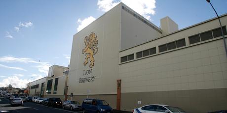 Lion Breweries site in Newmarket. Photo / Glenn Jeffrey