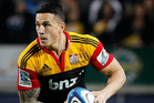 The Chiefs have to cope without Sonny Bill. Photo / Christine Cornege
