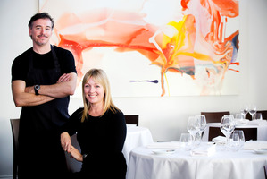 Simon Wright and Creghan Molloy Wright, owners of The French Cafe. Wright was named Auckland's best chef.Photo / Babiche Martens