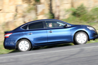 2013 Nissan Pulsar sedan. Photo / Supplied