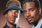 The movie dudes: Marlon and Shawn Wayans. Photo / Supplied