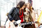 Steven Tyler, right, and Joe Perry of Aerosmith. Photo/AP