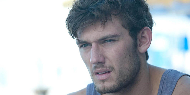 Alex Pettyfer is rumoured to have starred in test sex scene for Fifty Shades of Grey. Photo/supplied