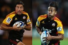 Richard Kahui (L) and Tim Nanai-Williams have moved around in changing back combos.  Photos / Getty Images