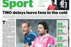 The Herald sport lead for April 23, 2013.