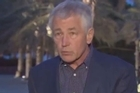 Defense Secretary Chuck Hagel says the Syrian regime has likely used chemical weapons on a 'small scale'.