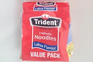Trident 2 Minute Noodles Laksa Flavour, Photo / Wendyl Nissen