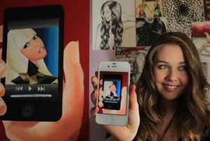 Local teen artist Kristina Webb has become an internet sensation. Photo / Bay of Plenty Times