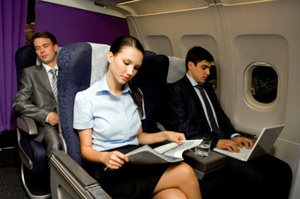 The higher altitudes experienced when flying make it harder to think. Photo / Thinkstock