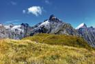 Mt Hart from Mackinnon Pass. Photo / Justine Tyerman