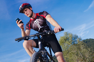 Charge your phone as you pedal. Photo / Thinkstock