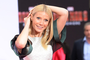 Gwyneth Paltrow attends the premiere of 'Iron Man 3' in a revealing dress. Photo / Getty Images