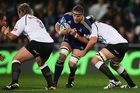 Brad Thorn of the Highlanders charges forward. Photo / Getty Images