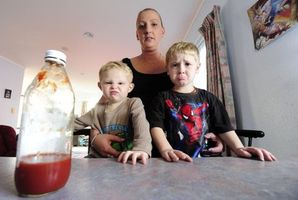 Tauranga mum Lee-anne Swinburne has laid a complaint against McDonald's after the fast-food outlet on three occasions overlooked requests for a ketchup-free burger. Photo / Bay of Plenty Times
