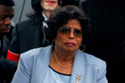 Katherine Jackson claims music promoters AEG pushed her son too hard to prepare for his upcoming farewell concert series. Photo / AP