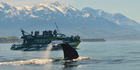 A sperm whale waves to tourists on the Kaikoura Whale Watch vessel as only a whale can do. Photo / Brian Betts
